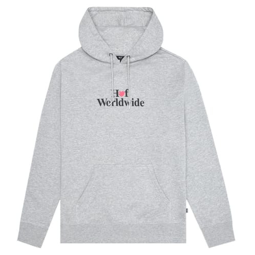 HUF Love Pull Over Hoodie - Athletic Heather