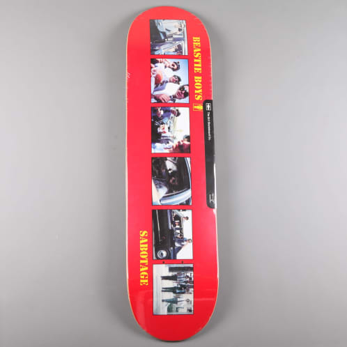 "Girl X Beastie Boys 'Sabotage' 8.25"" Deck"