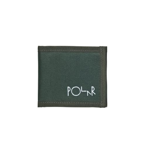 Polar Cordura Wallet - Dark Green