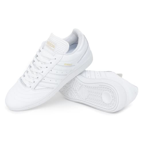 Adidas Busenitz Shoes - FTW White/Gold/FTW White