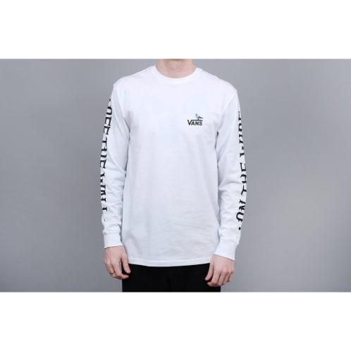 Vans x Anti-Hero Longsleeve T-Shirt White