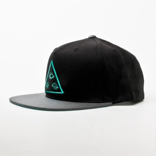 Welcome Triangle Cap Black/Grey