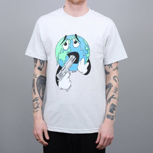 Quasi World T-Shirt Ash