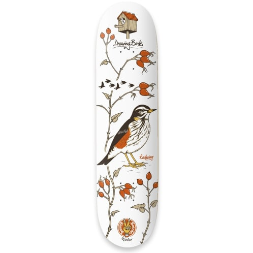 Drawing Boards Seasonal Boards Redwing Deck - 8.1""