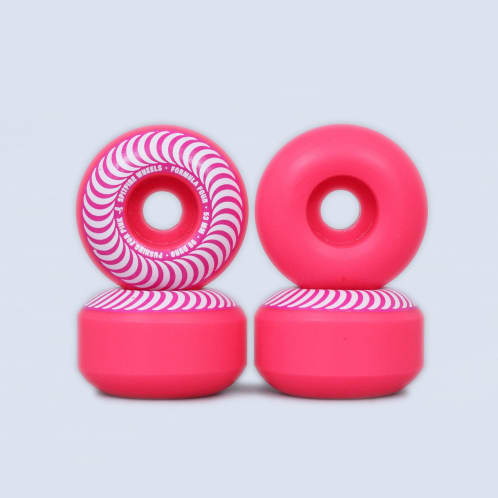 Spitfire 53mm 99DU Formula Four Pushing For Pink Classic Wheels Pink