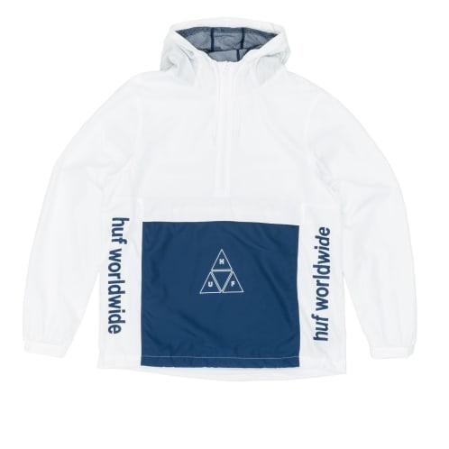 Huf Peak 3.0 Anorak Jacket - White
