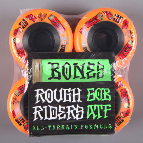 Bones 'ATF Rough Riders Shotgun' 56mm Wheels (Orange)