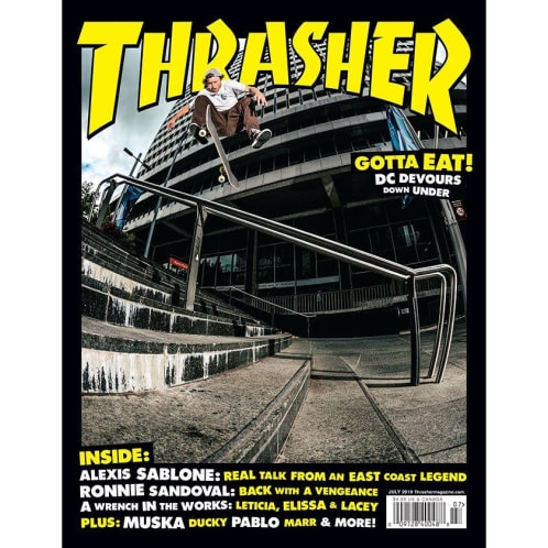 Thrasher Magazine July 2019 Issue