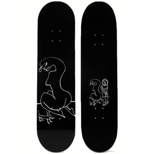"Sex ""Dog Knees "" Skateboard deck 8.125"""
