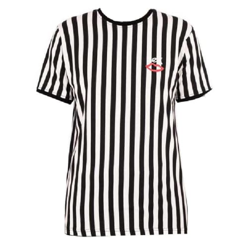 Sex Skateboards Summat Nice Striped T-Shirt - Black/White Stripe