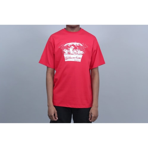 WITH Fried Pigeon T-Shirt Red