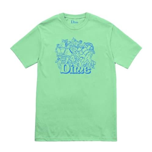 Dime MTL Speakeasy T-Shirt - Mint