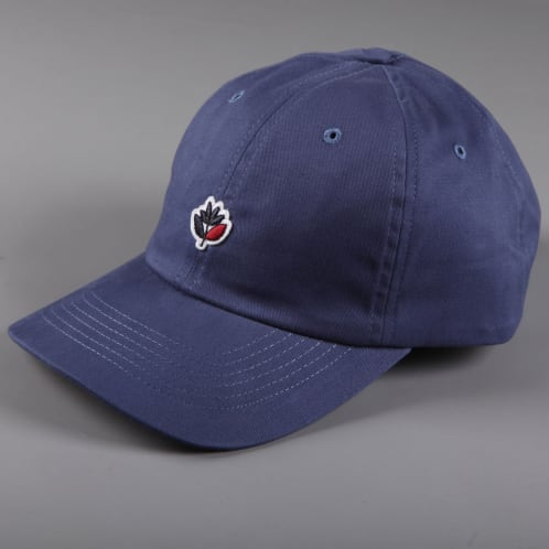 Magenta 'Plant' Dad Hat (Navy)
