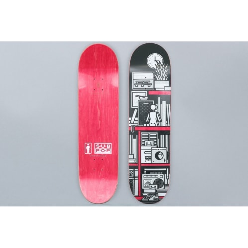 Girl 8.125 Andrew Brophy Subpop Skateboard Deck