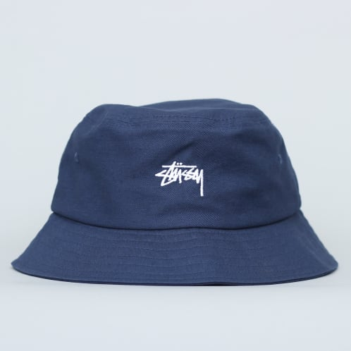 Stussy Stock Bucket Hat Navy