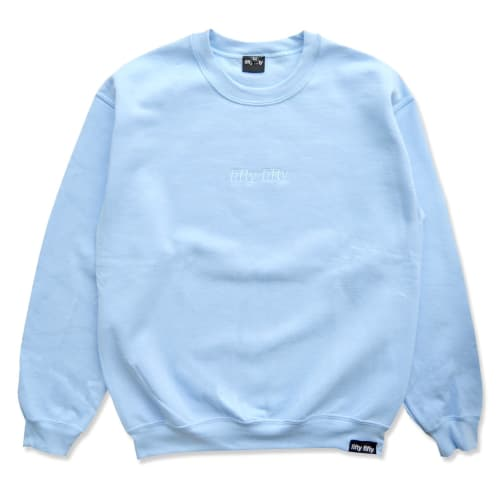 Fifty Fifty Tonal Embroidered Crew Baby Blue
