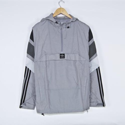 Adidas Skateboarding - 3ST Track Jacket - Light Granite / Solid Grey / Grey Five / Clear Onix