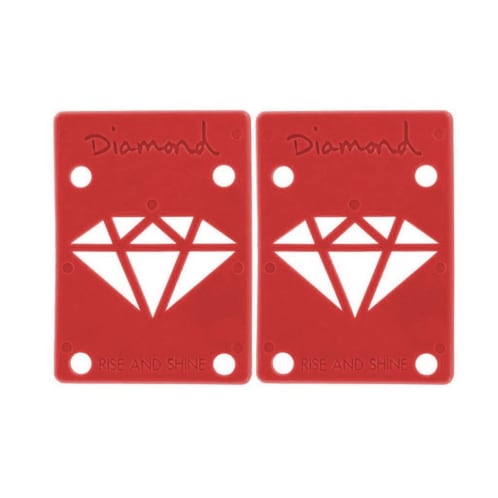 "Diamond 1/8"" Red Riser Pads"