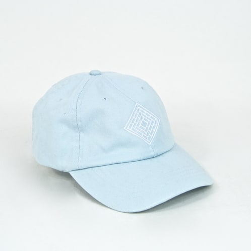 The National Skateboard Co. - Classic 6 Panel Cap - Baby Blue