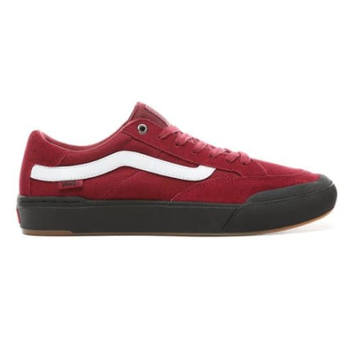 Vans Berle Pro Skateboarding Shoes - Rumba Red