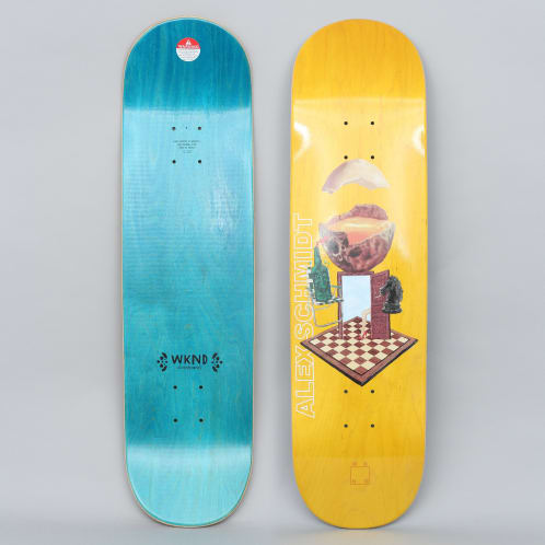 WKND 8.25 With A Sunny Side Of Schmidt Skateboard Deck