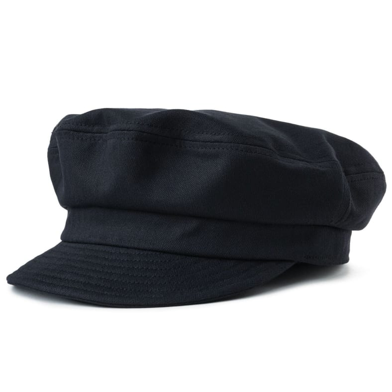 30779e96 Brixton Fiddler UN Cap - Black | Hat by Brixton