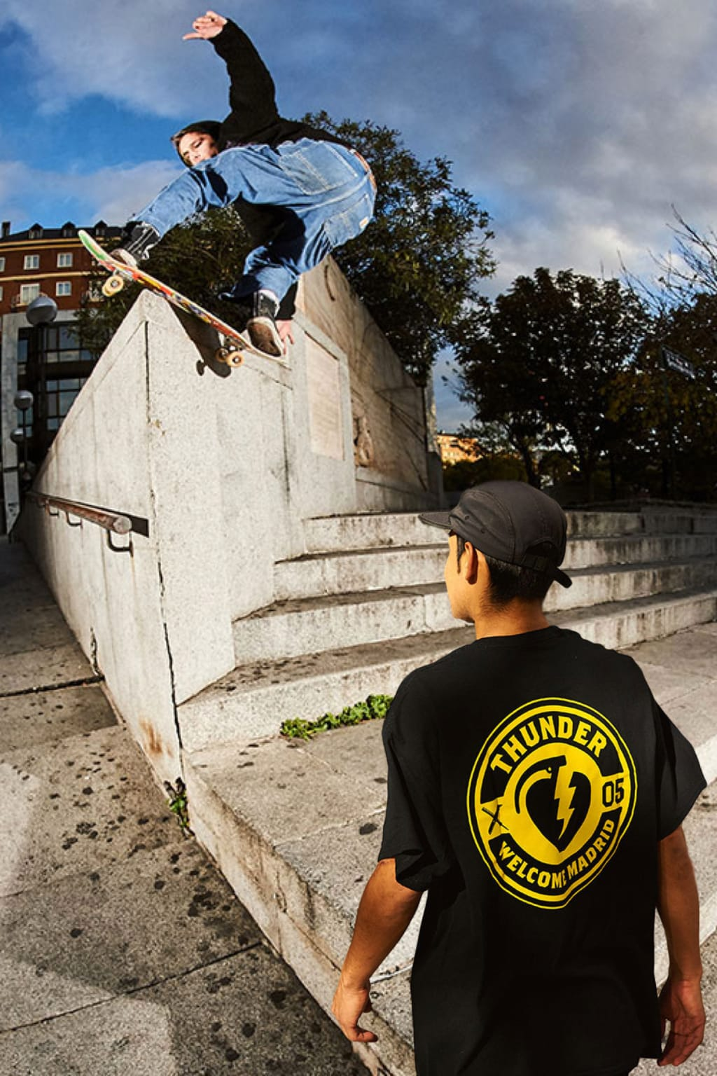 Thunder Trucks x Welcome Madrid