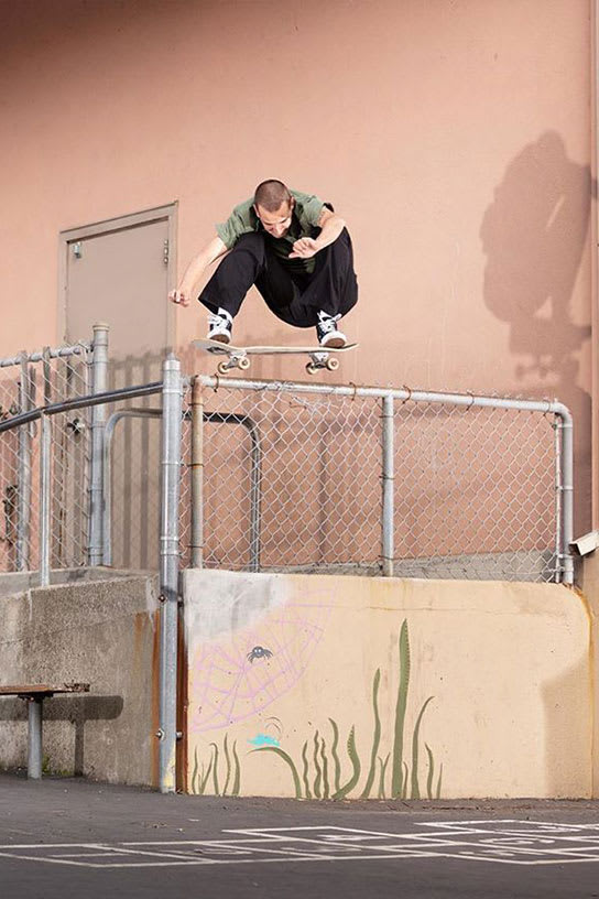 Dane Barker Welcome to Converse Cons