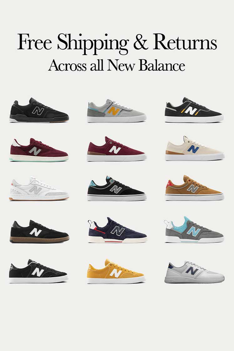 Free Shipping + Returns On All New Balance
