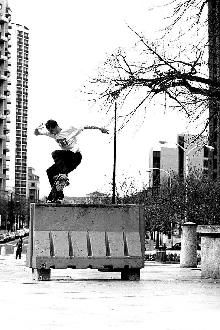 Josh Kalis talks Love Park, the Lynx and DC Shoes