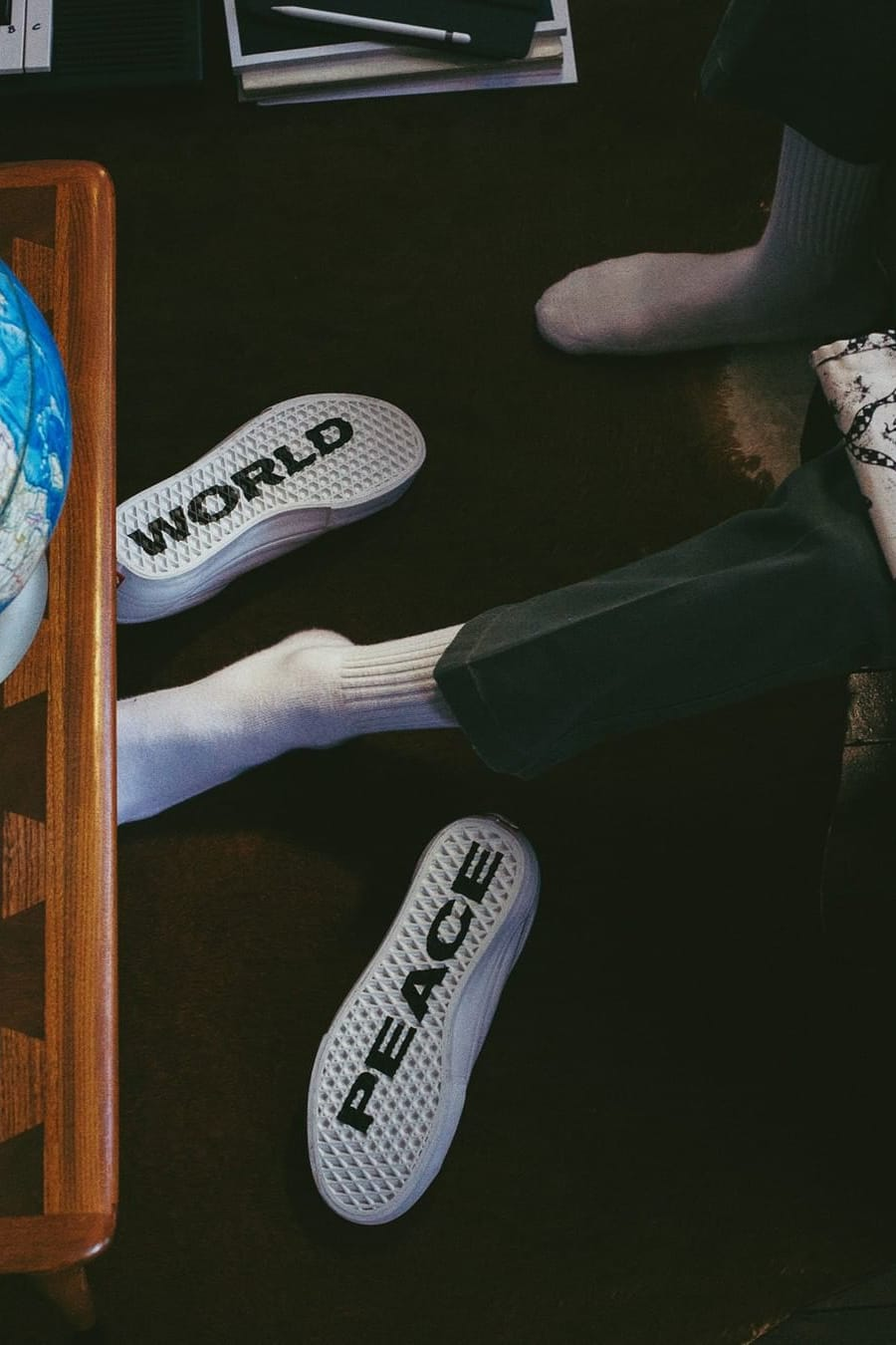 Back In Stock - Vans x Justin Henry - World Peace Collection
