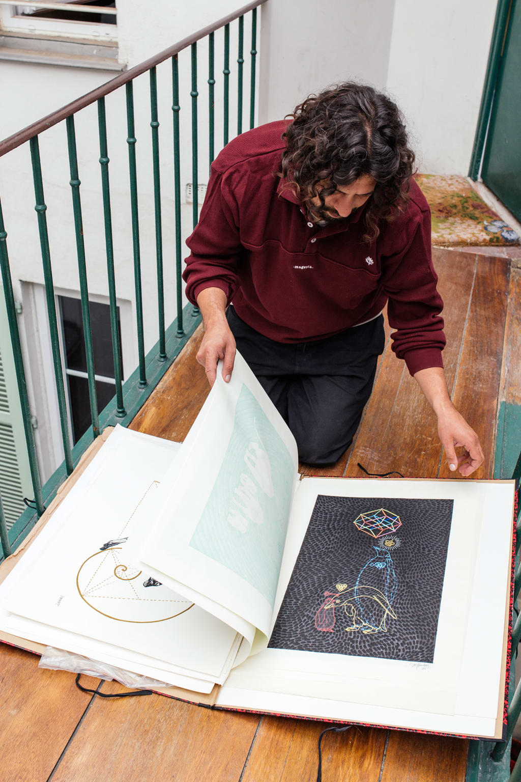 Soy Panday Talks Magenta Graphics and his Own Artistic Process