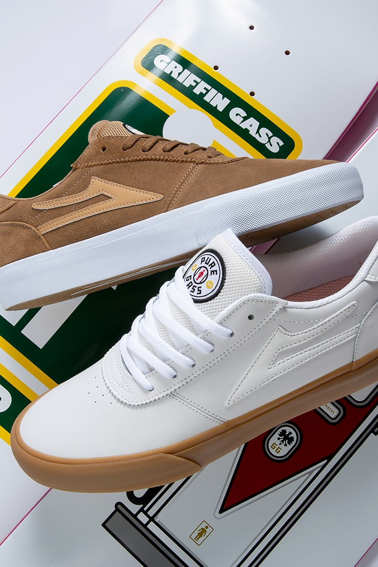 Lakai Footwear x Girl Skateboards: Manchester Griffin Gass colorway.