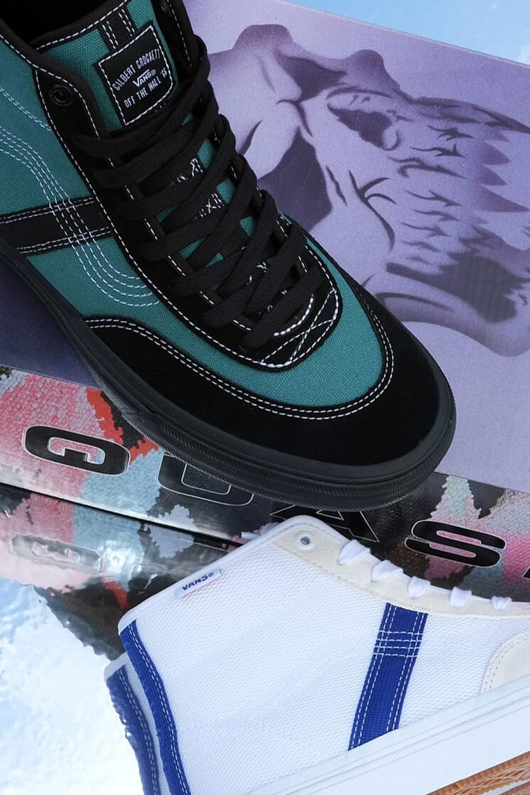 Quasi x Vans Gilbert Crockett High Pro Collaboration
