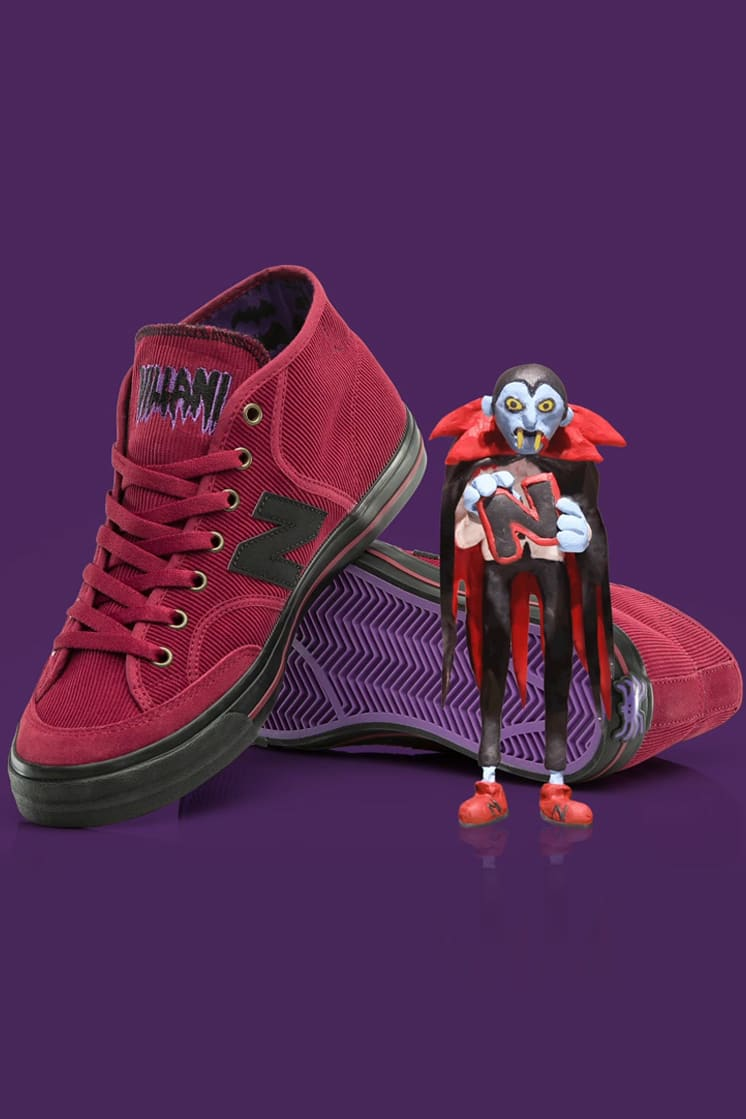 New Balance Numeric & Franky Villani Present a Halloween Inspired NM213