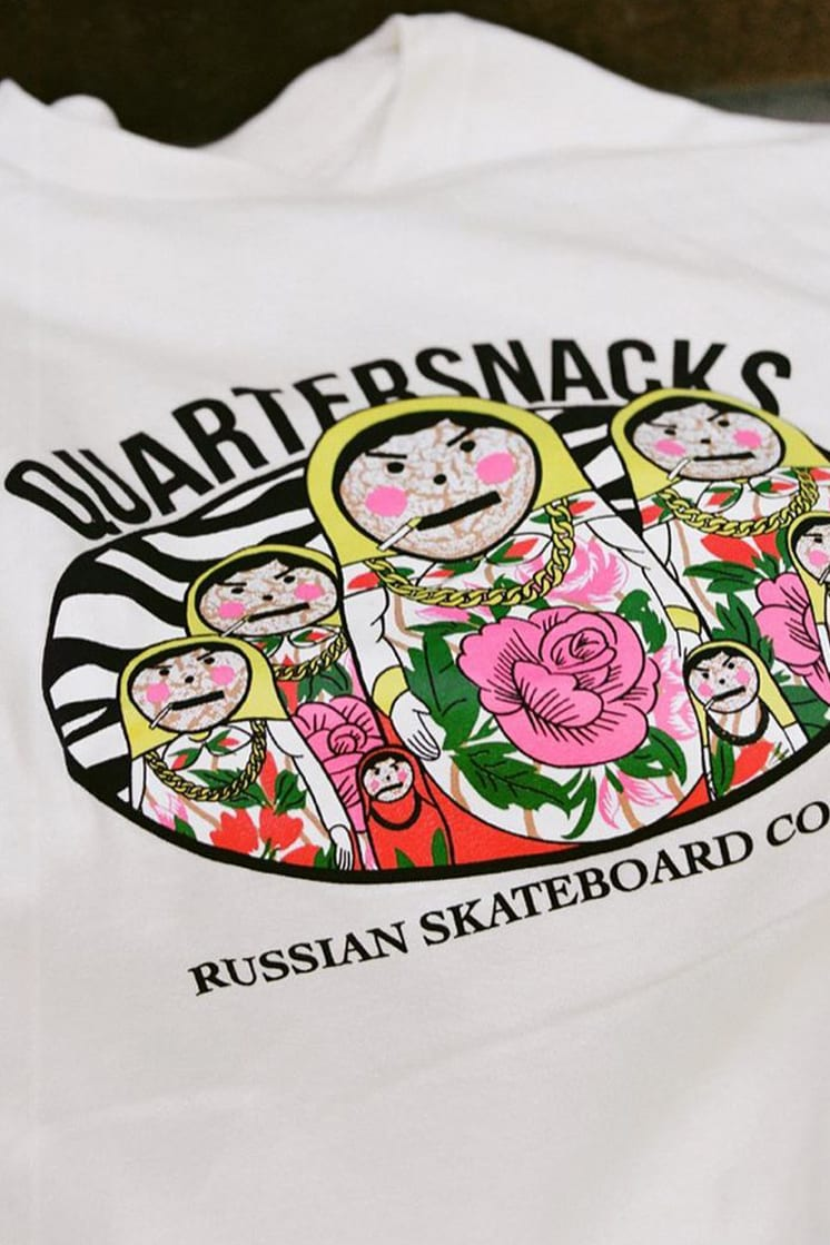 Quartersnacks Fall '20 Merch