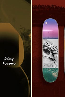 Isle Skateboards Welcomes Remy Taveira