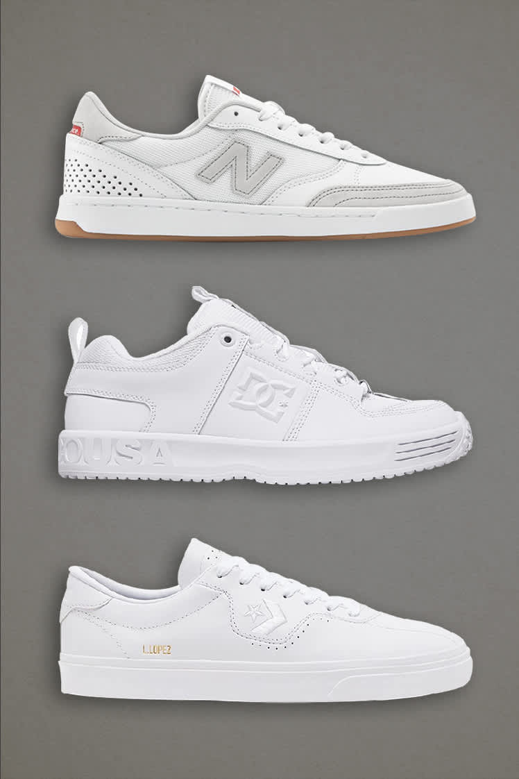 White Skate Shoes | Parade Picks