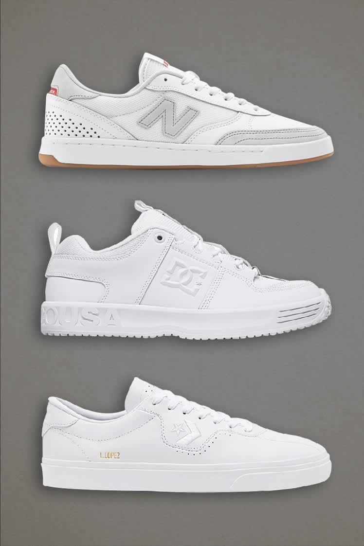 White Skate Shoes | Parade Picks