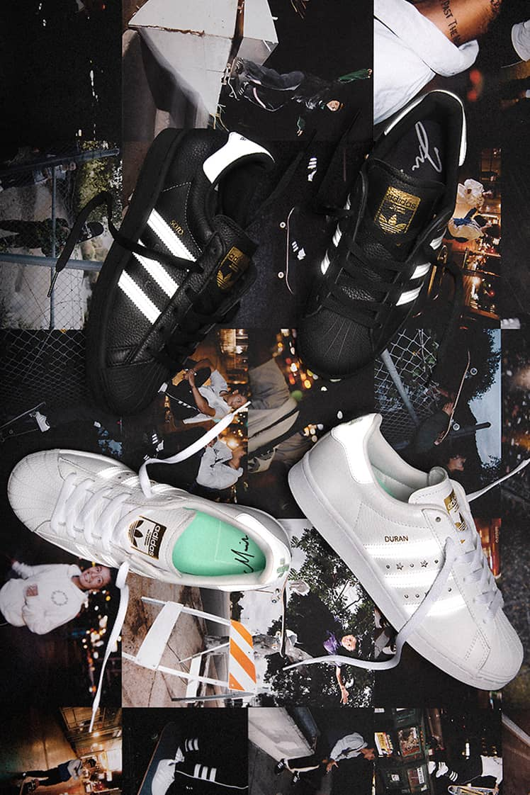 adidas Skateboarding Release Jenn Soto & Mariah Duran Superstar ADVs