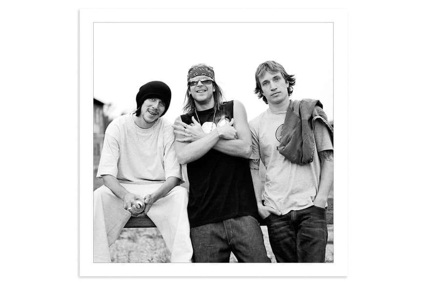 Tom Penny, Chad Muska, Jaime Thomas, Dortmund, 2001. by Skin Phillips
