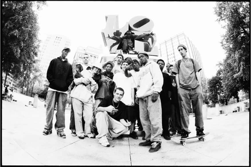 Love Park Crew, 1999 by Mike Blabac