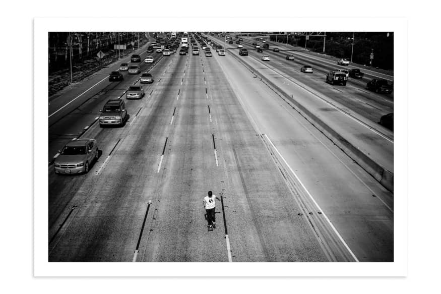 Don Brown, 405 Freeway, California, 2008. by Skin Phillips