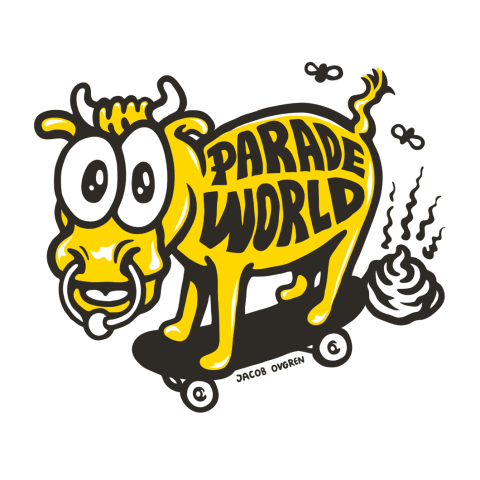 Jacob's exclusive Paradeworld.com illustration