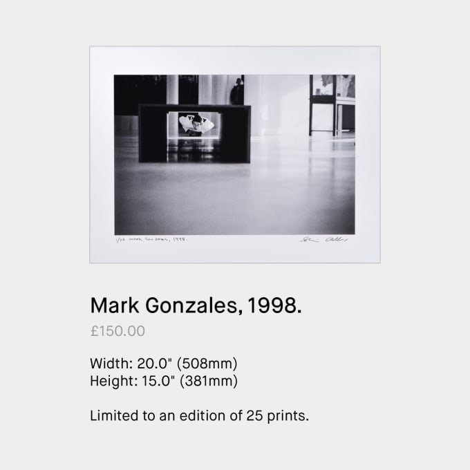 Mark Gonzales, 1998 by Skin Phillips. Skateboard photography available to buy on Paradeworld.com