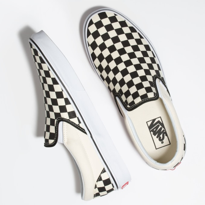 Vans checkerboard have become an instant classic, both as a skate shoe and chiller shoe