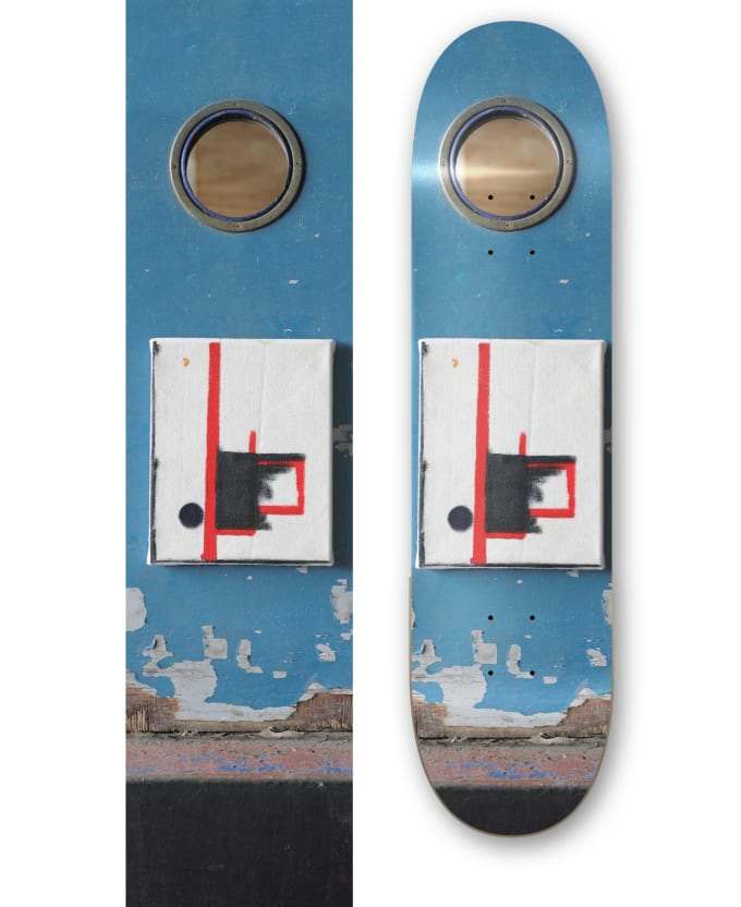 Win an Isle Skateboard with graphics featuring the artwork of Ted Gahl.