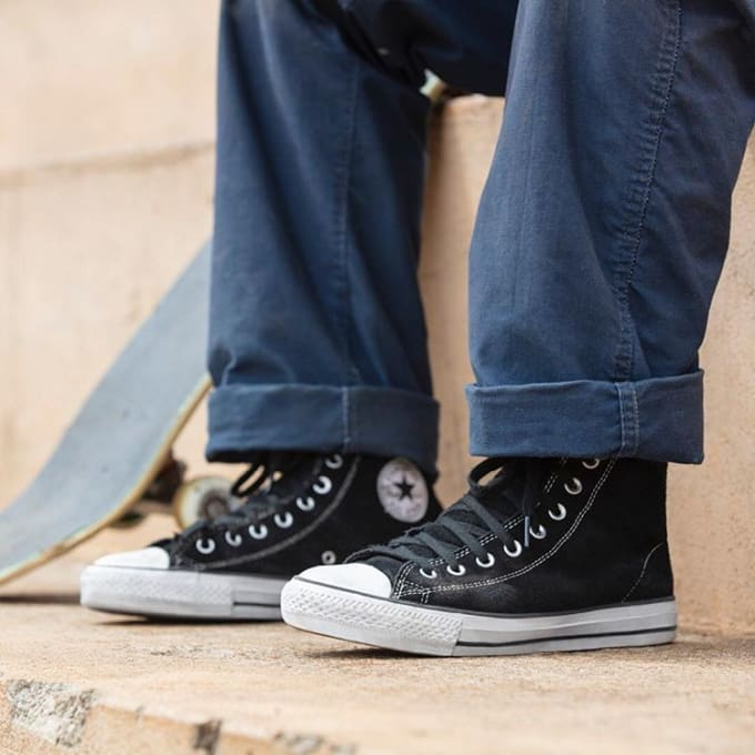 Converse Cons Chuck Taylor - a design classic refactored as a skate shoe.