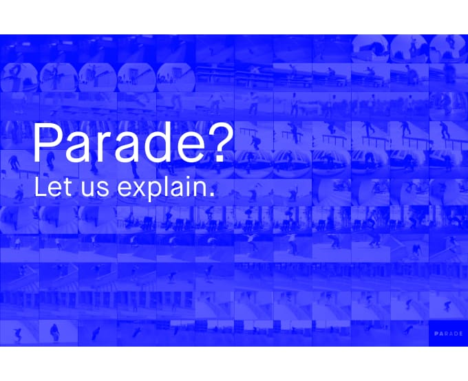 Parade is an online store dedicated to skateboarding. We bring together the best skate shops, brands and artists across skateboarding to one convenient shopping destination.