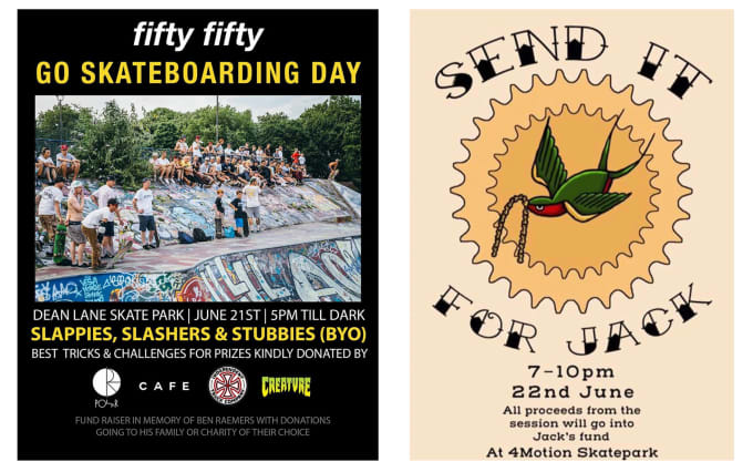Go Skateboarding Day, 2019. Fifty-Fifty & Legacy
